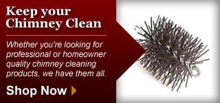 Keep Your Chimney Clean - Shop Now