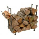 View: Large Hearth Log Racks Made by Enclume in the USA