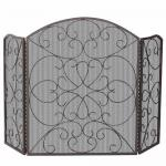 View: Ornate Arched Fireplace Screens