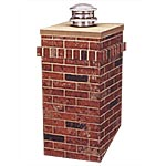 View: Chimney Surrounds for Pipe Chimneys