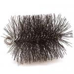 "View: 7"" Round Heavy-Duty 3/8"" NPT Wire Brush - 33076"