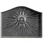 "View: Sun Cast Iron Fireback - 18"" H x 24"" W"