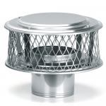 "View: 5"" Round Homesaver 3/4"" Mesh Guardian Chimney Cap - 13860"