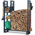 View: Utility Outdoor Wood Rack Pilgrim 18565