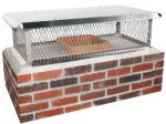 View: Top Mount Multi-Flue Stainless Steel Chimney Cap