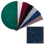 View: 4' Wide Polyester Blue Hearth Rug 10706