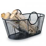 View: Black Harvest Firewood Basket
