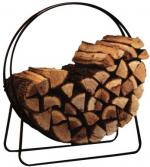 "View: 40"" Diameter Solid Steel Log Holder Hoop TOP CHOICE"