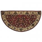 "View: 44"" Wide Half Round Wool Hearth Rug"