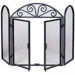 "View: Iron Screen With Doors 52"" Wide x 32' High Uniflame S-1184"