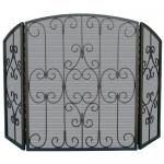 View: Graphite Fireplace Screen