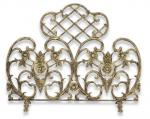 View: Antique Gold Decorative Summer Fire Screen