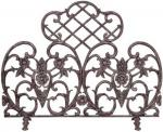 View: Antique Bronze Decorative Summer Fire Screen