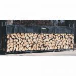 View: Woodhaven Firewood Rack , 10 Feet Wide WR10 Holds 2/3 Cord