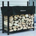 View: Woodhaven Firewood Rack , 4 Feet Wide WR4 Holds 1/4 Cord