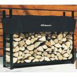 View: Woodhaven Firewood Rack , 5 Feet Wide WR5 Holds 1/3 Cord