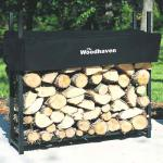 View: Woodhaven Firewood Rack , 3 Feet Wide WR3 Holds 1/8 Cord